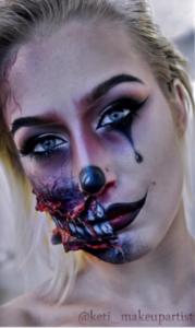 Halloween - Katarinin omiljen dan za šminkersku kreativnost