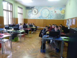 Radna atmosfera u informatičkoj učionici