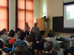 Profesor Mark Andrews na predavanju u našoj školi